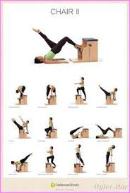 Pilates Reformer Workout Chart Pilates Reformer Exercises Chart Free Archives Star Styles