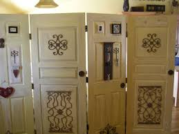 old doors antiqued and made into a room divider room divider doors room