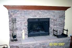 cost to reface fireplace cost to reface gas fireplace