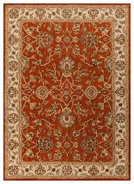 remhala re1043 red beige area rug 3 x5 traditional area rugs by arearugs