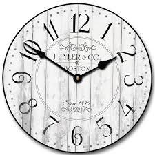 White Kitchen Wall Clocks White Kitchen Wall Clocks Home Design Ideas