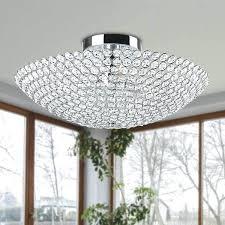 3 light flushmount the lighting 3 light chrome bowl shaped crystal flush mount martina chrome