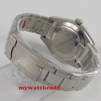 44mm 316l stainless steel screw back pvd parnis case fit 6498 6497 movement