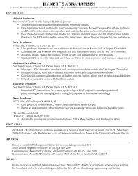 Resumes Cover Letters And Reels Journalism Lectures