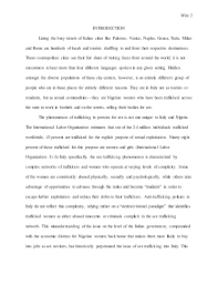 human trafficking essay human trafficking essays and papers 123helpme