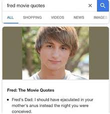 Fred The Movie Quotes Magnificent Fred The Movie Quotes Adorable Me Irl MeIrl Uanepfologinin