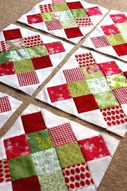 Find This Pin And More On Quilts Easy Christmas Quilt Patterns ... & Easy Christmas Tree Skirt Quilt Patterns Easy Breezy Christmas Quilt By  Allyson Easy Christmas Quilt Patterns Adamdwight.com