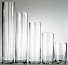 cylinder glass vase 4x14 450 00