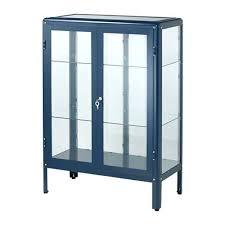 ikea display case glass door cabinet ikea display case detolf