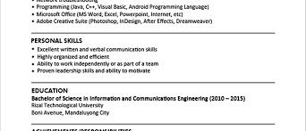 Download Sample Resume Sample Resume Format For Fresh Graduates