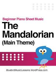 Show more like 525 likes. The Mandalorian Main Theme Beginner Piano Sheet Music Bluebird Music Lessons