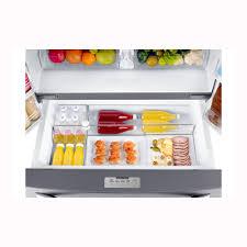 Pc Richards Kitchen Appliances Samsung 226 Cu Ft French Door Refrigerator Stainless Steel