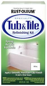 Rust Oleum Specialty 7860519 Tub And Tile Refinishing White Kit