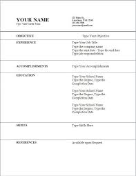 good resume sample of simple resumes template basic format for ...