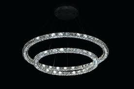 ring pendant light lighting led ring pendant light modern crystal pendant light 3 sides mounted crystal ring pendant light led