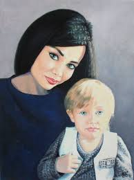 painting portrait portrait from photo custom portrait oil portrait on canvas