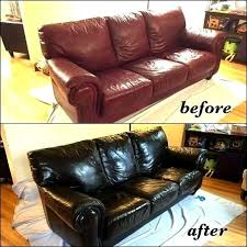 modern leather coming off sofa