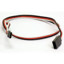 servo extension y harness radios servos value hobby universal futaba jr servo extension heavy duty 22awg 24in 60cm