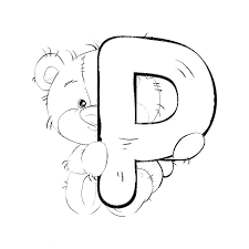 Letter Coloring Pages Printable Alphabet Letter Coloring Pages