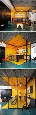 office define. Beautiful Office Interior Design Idea  Use Color To Define An Area  In This Kitchen  Within An Office Bright Yellow Walls Floor And Ceiling Clearly Defines The U2026 Throughout Office Y