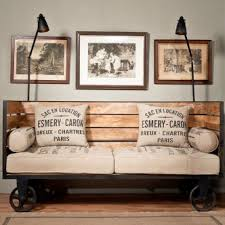 industrial looking furniture. industrial look day bed looking furniture