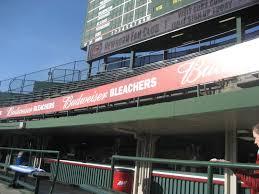 Wrigley Field Bleachers Baseball Seating Rateyourseats Com