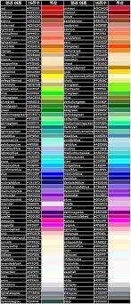 Rgba Color Chart Android Rgba Chart Hanumoka It Blog