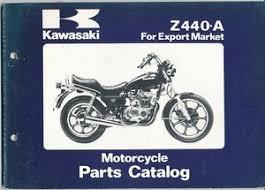 kawasaki z440 a motorcycle parts catalog ebay