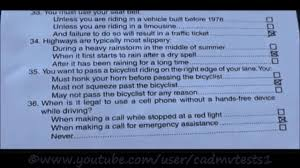 12 diffe california dmv test papers dare to watch tricky papers you