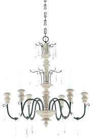 chandeliers white wooden chandelier traditional chandeliers six light distressed wood and iron up wo