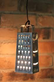 diy pendant lighting. Diy Pendant Lighting. 4 Cheese Grater Light Lighting A