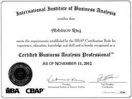 Analyst Certification IIBA