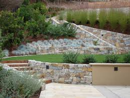 Small Picture Great Tiered Backyard Landscaping Ideas 27 Backyard Retaining Wall