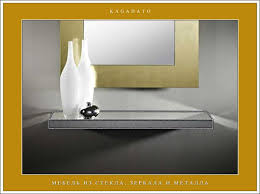 glass form furniture. mirrored furniture the multifaceted form made by tiffany technology glass