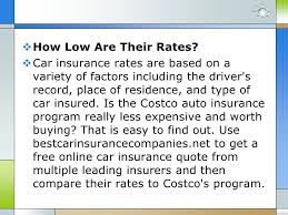 Car Insurance Rate Quotes 87 Best Costco Auto Insurance