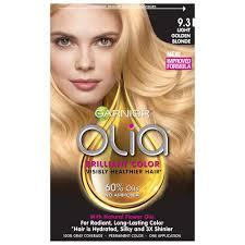photo of olia 9 3 light golden blonde 1 application