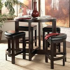 small round pub table bistro and chairs for kitchen