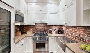 Red Brick Flooring Kitchen 50 Best Kitchen Backsplash Ideas For 2017