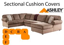 jessa tan sectional replacement cushion