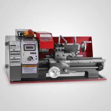 universal motorized metalworking machine diy wood tool metal mini turning lathe