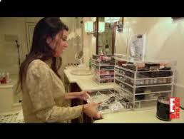 Image result for kardashian makeup storage box