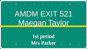 Amdm Venn Diagram Worksheet Answers Amdm Exit 521 By Meg Taylor On Prezi