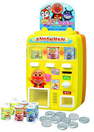 Vending Machine Toy Inspiration Juice Give Me Anpanman Vending Machine Love Anpanman Amazoncouk