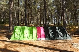Modular Tent System Rhinowolfs Modular Tents Zip Together For Easy Group Camping Curbed