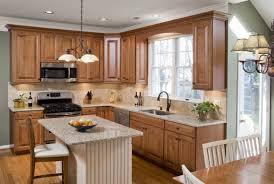 White Oak Wood Natural Shaker Door Kitchen Cabinets Long Island Backsplash  Cut Tile Laminate Recycled Countertops