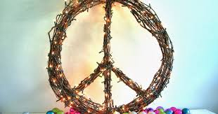 life love larson look for less design challenge cb2 knock off peace wreath