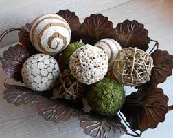 Decorative Balls For Bowls Australia Decorative balls Etsy 82