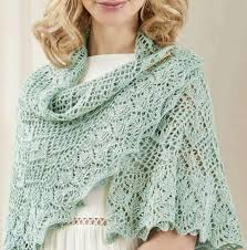 Shawl Knitting Patterns Interesting Circular Lace Shawl Knitting Pattern