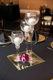 Mirror Tiles For Table Decorations Show me a picture of your centerpieces 45