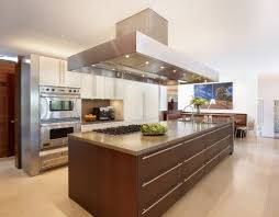 Large Kitchen Kitchen Modern Kitchen Design With Large Kitchen Island